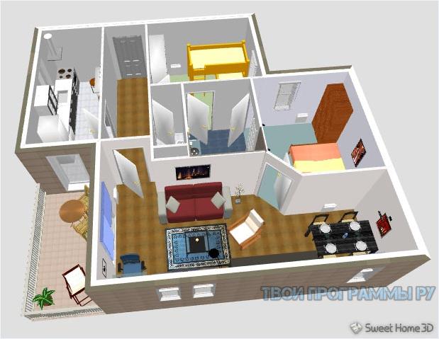 Sweet Home 3D новая версия