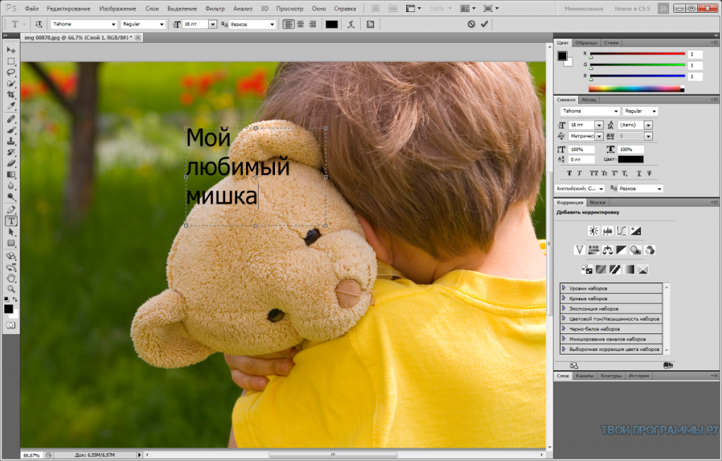 Adobe Photoshop на русском