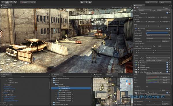 Unity 3D для компьютера