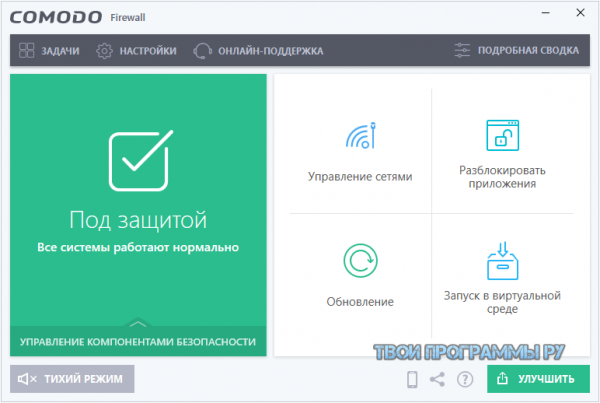 Comodo Firewall русская версия для пк