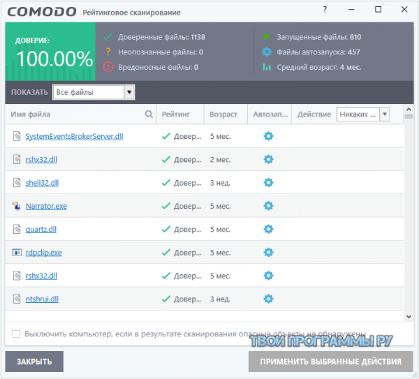 Comodo Firewall новая версия