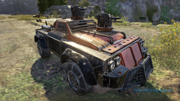 Crossout для windows 7, 8, 10, XP