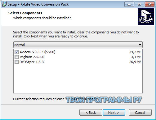 K-Lite Video Conversion Pack на русском языке