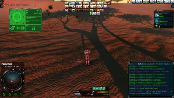 Entropia Universe клиент игры