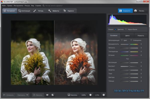 ФотоМАСТЕР русская версия программы