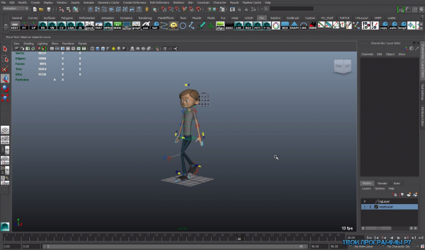 Autodesk Maya русская версия