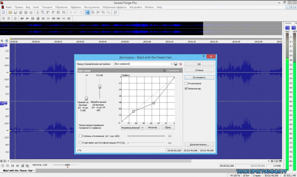 Sound Forge Pro для Windows