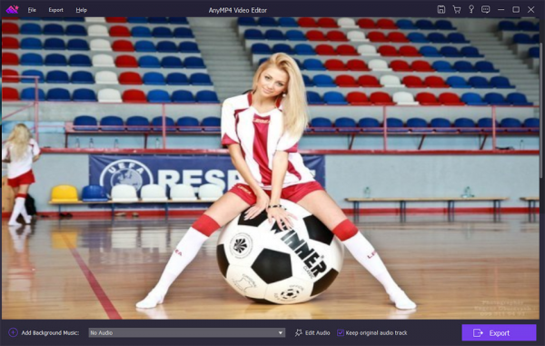 AnyMP4 Video Editor для Windows