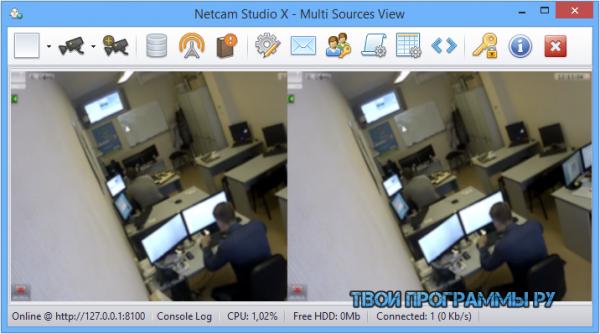 Netcam Studio на русском языке