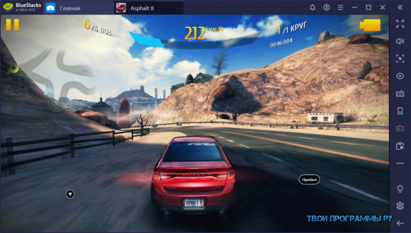 Игра Asphalt 8 для Windows
