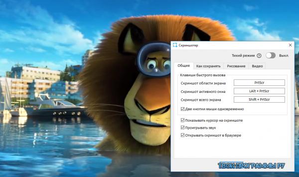 Скриншотер для Windows